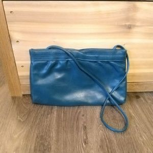 Vintage Bags - Vintage Vegan Leather Clutch